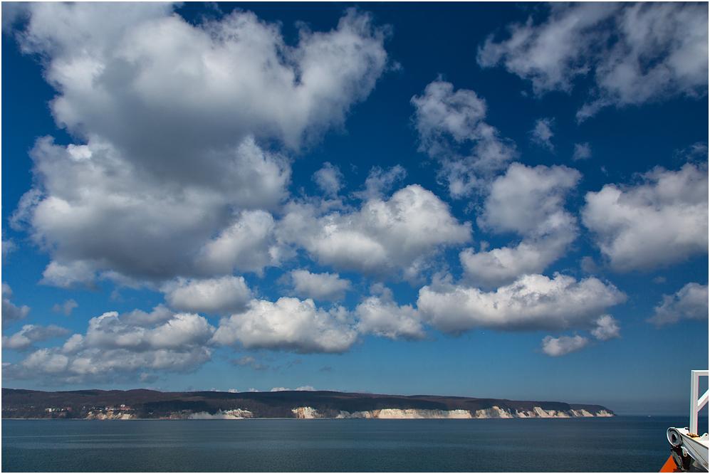 Schönwetterwolken..