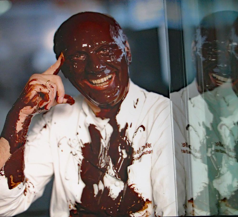Schokolade macht glücklich