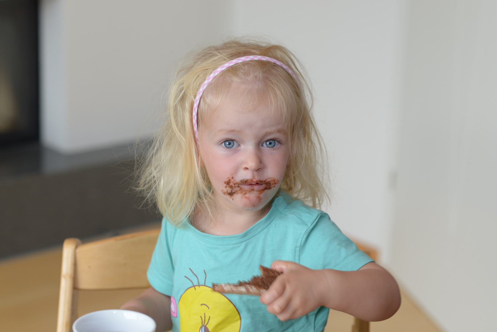 Schokolade Zum Frühstück Foto Bild Kinder Kinder Ab 2