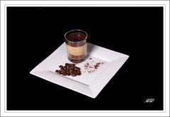 Schokoladen-Kaffee-Dessert