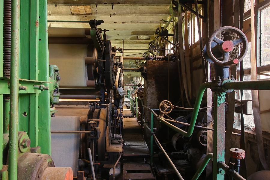 schokoladige Papierfabrik...