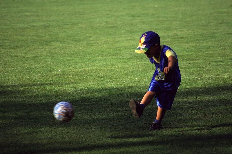 Schon ein kleiner Fußballweltmeister