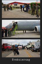 Schon mal ausgeflogen worden? / Did YOU book the evacuation?