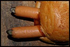 Schon mal Finger gegessen ?
