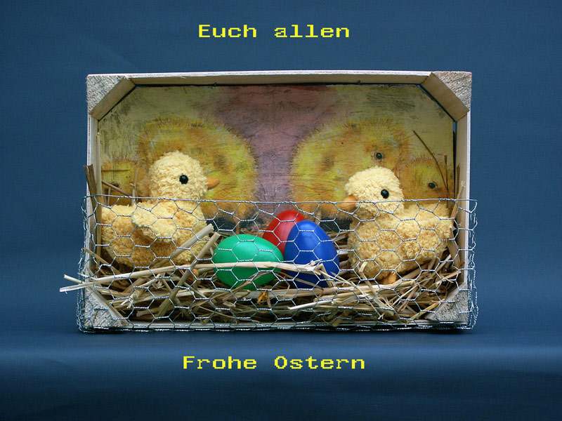 Schon mal Frohe Ostern