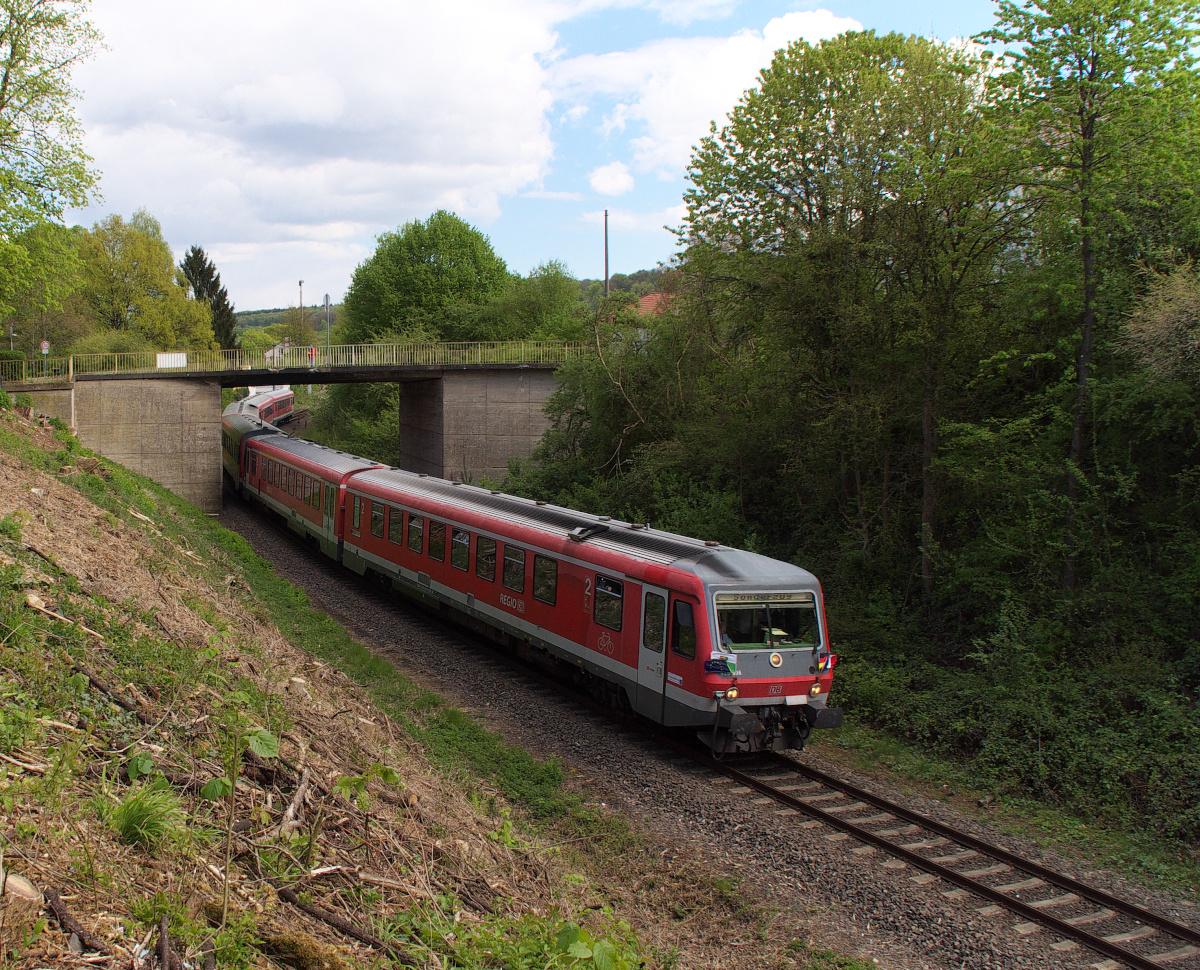 Schon Tradition - der Karfreitag Sonderzug Dillingen - Bouzonville