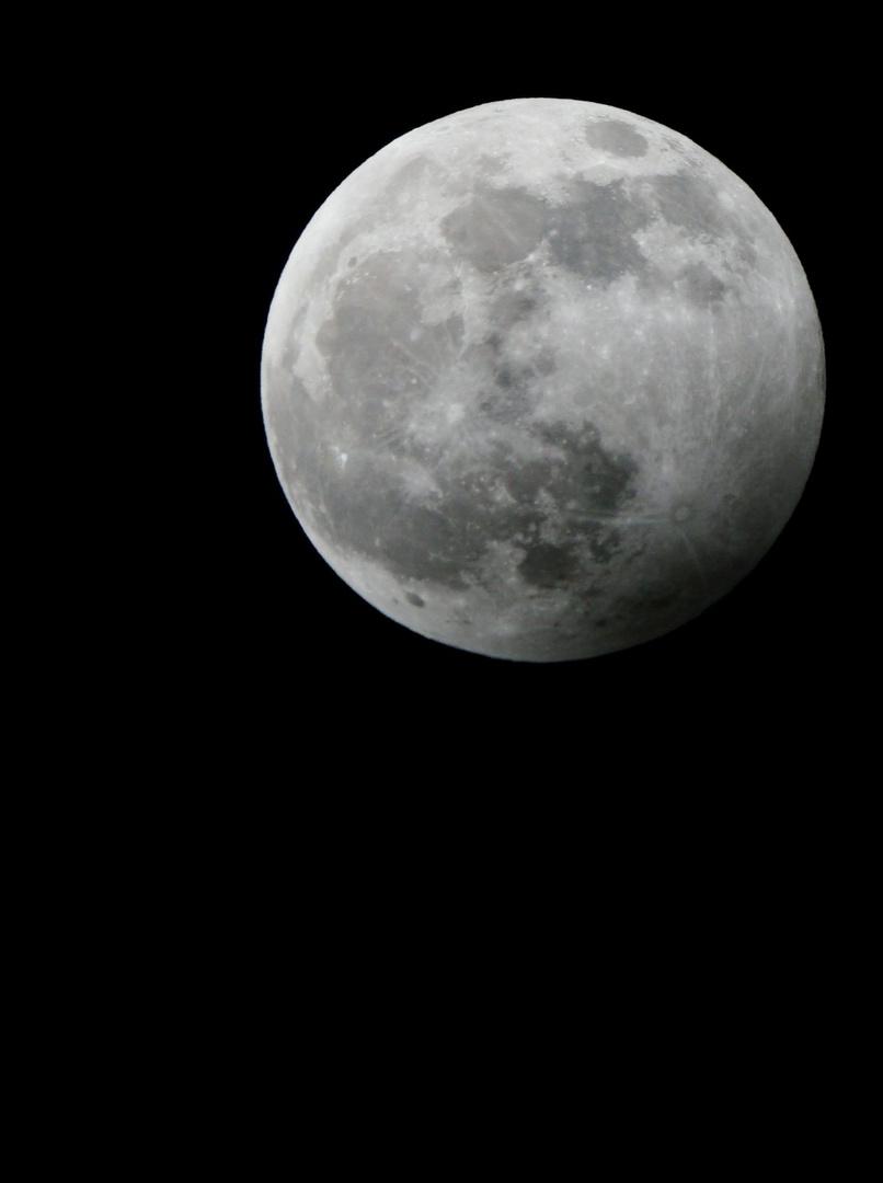schon wieder alles voll Mond
