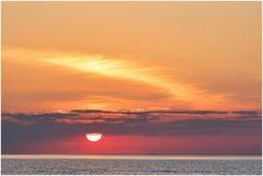 schon wieder ein Sonnenuntergang