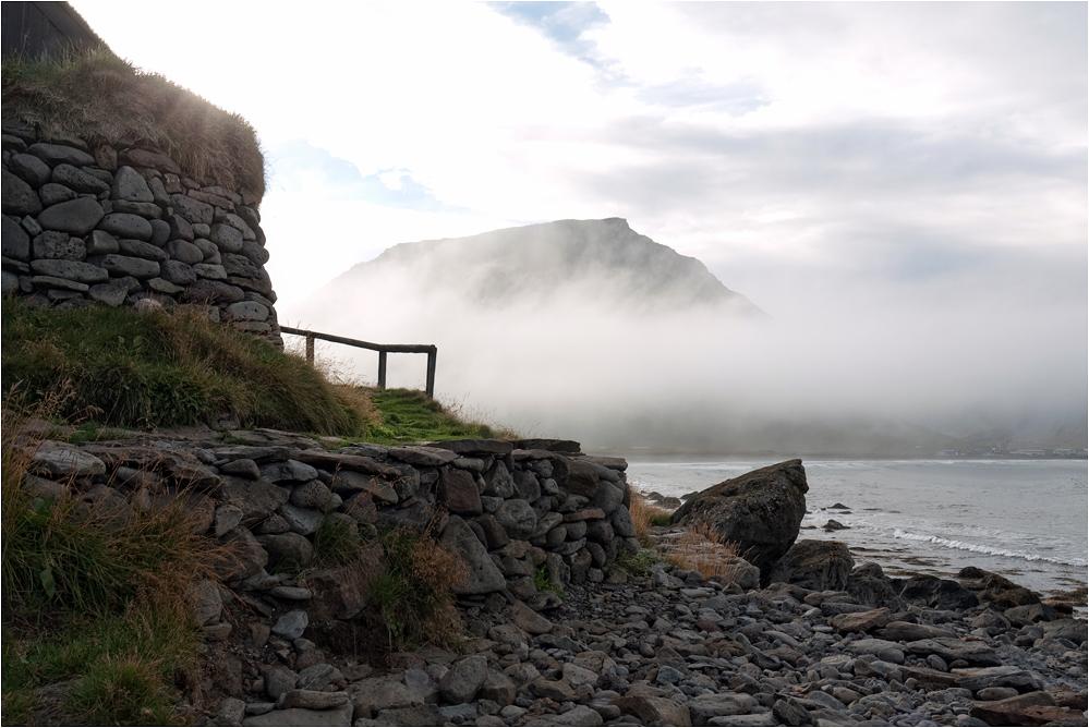 Schon wieder kommt Nebel um die Ecke...