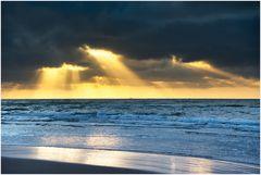 schon wieder Sonnenuntergang in DK