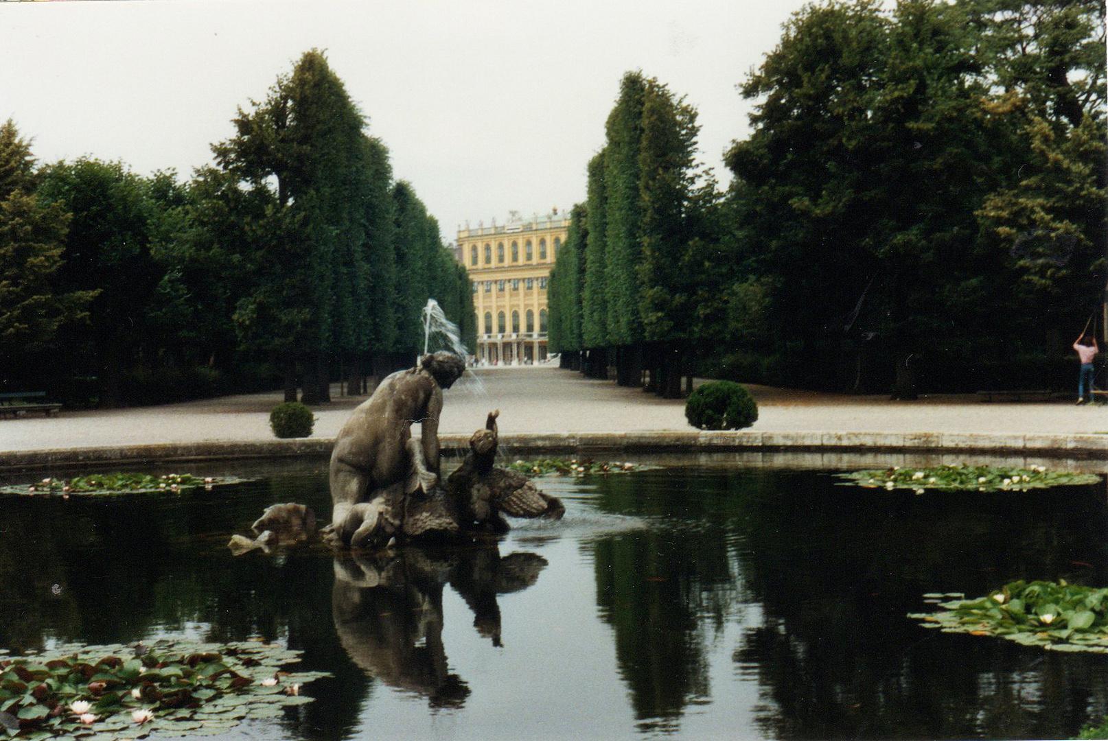Schonbrunn Gardens - Vienna, Austria  cca. 1989