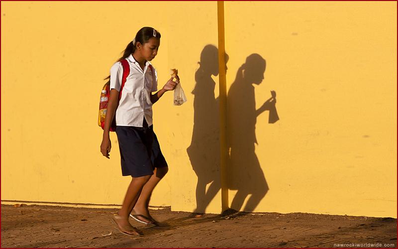 School Girl In Disguise