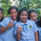 Schoolgirls group photo