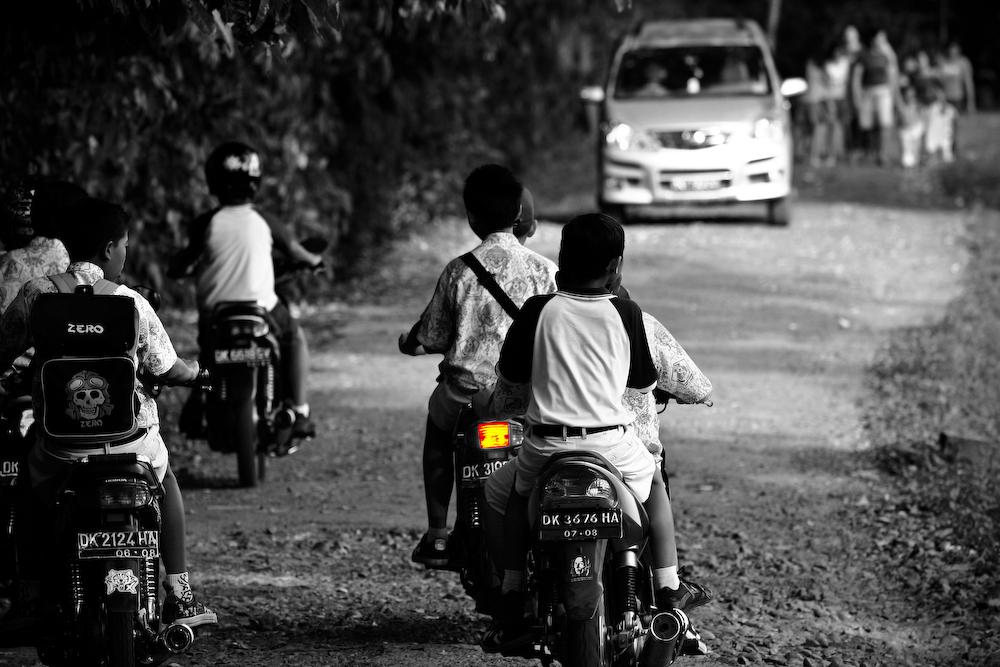 School´s out in Bali
