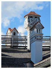 Schornsteine auf Schloss Ambras