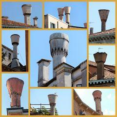 Schornsteine in Venedig
