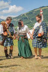 Schotten beim Südtiroler Ritterfest