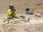 Schotterherstellung in Lusaka / Sambia