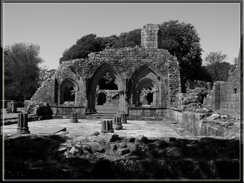 Schottland - Dundrennan Abbey