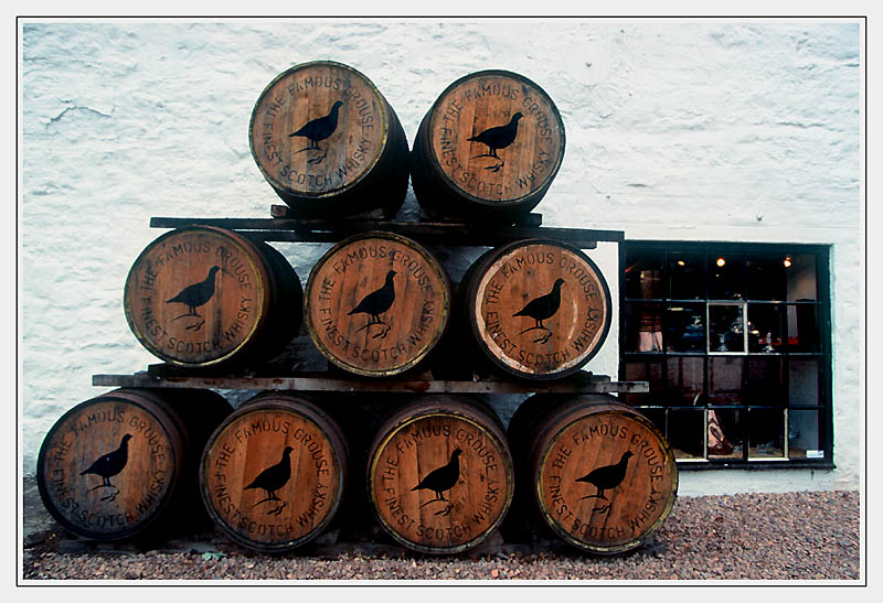 Schottland Monzie -Grouse distillery # 01