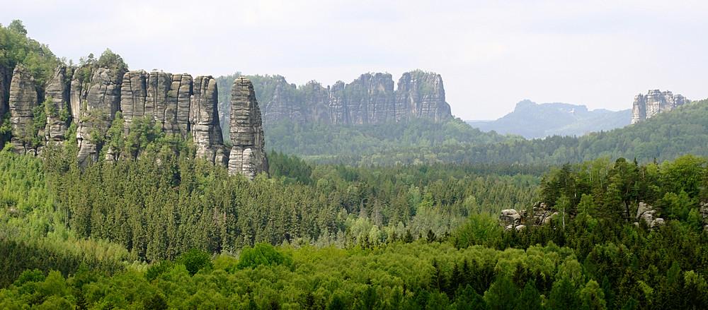 Schrammstein - Panorama