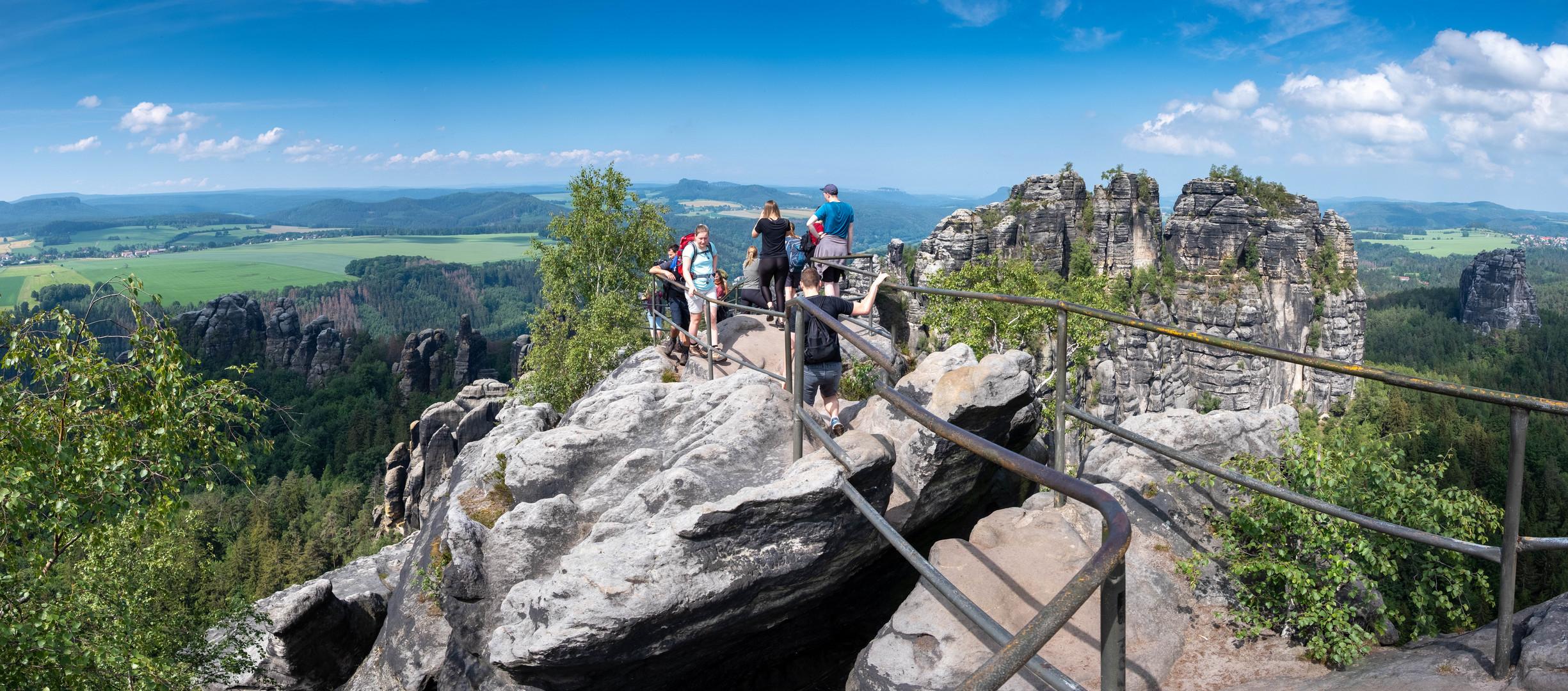 Schrammsteine-Panorama