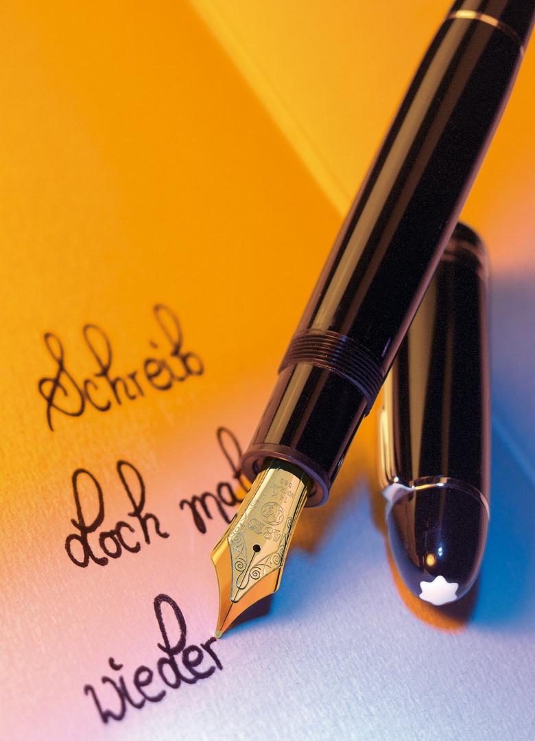 Schreib mal wieder....