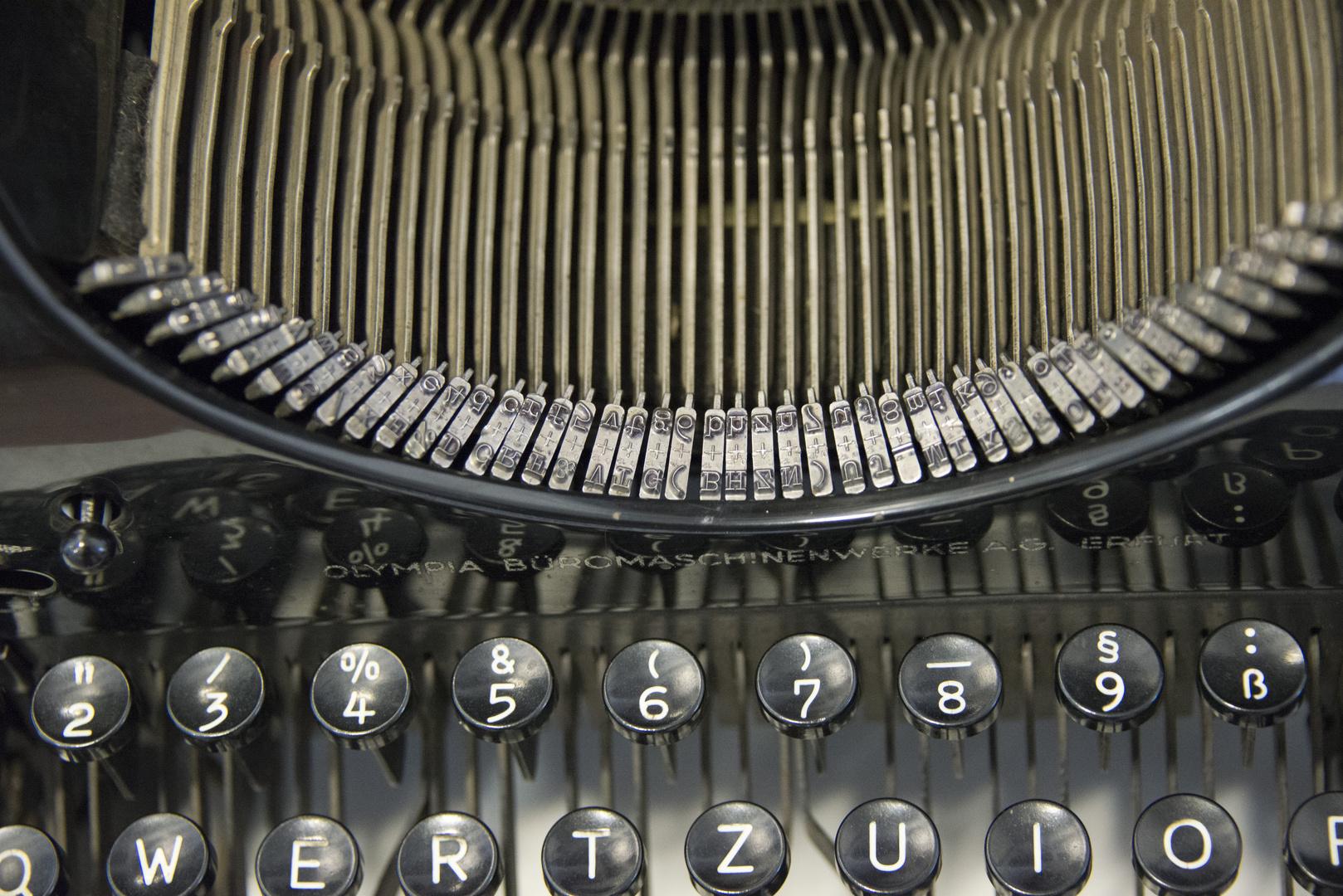 Schreibmaschine wer kennt sie noch?