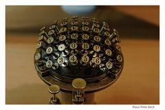 Schreibmaschinentastatur