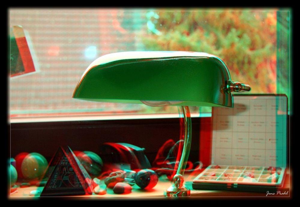 Schreibtisch Lampe 3D