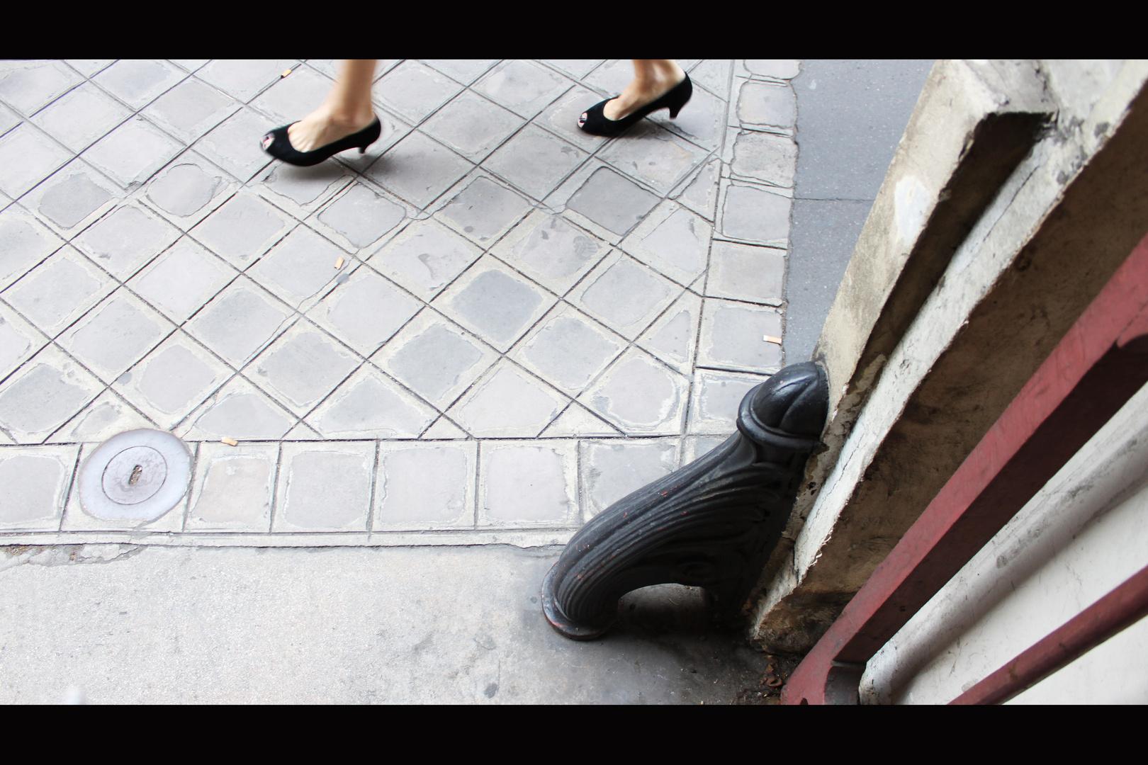 Schritte in Paris
