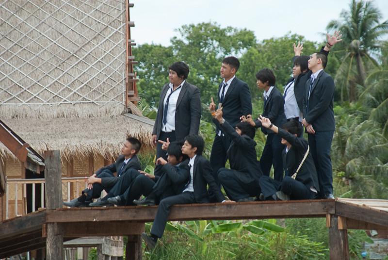 Schüler in Thailand