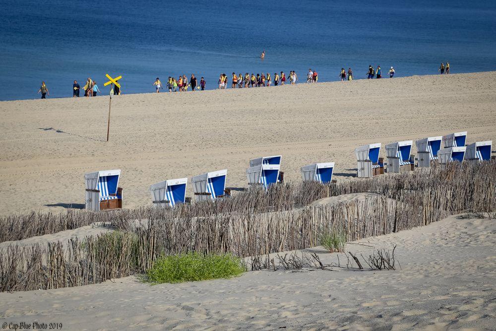 Schüler Strandkorbe Uferbefestigung