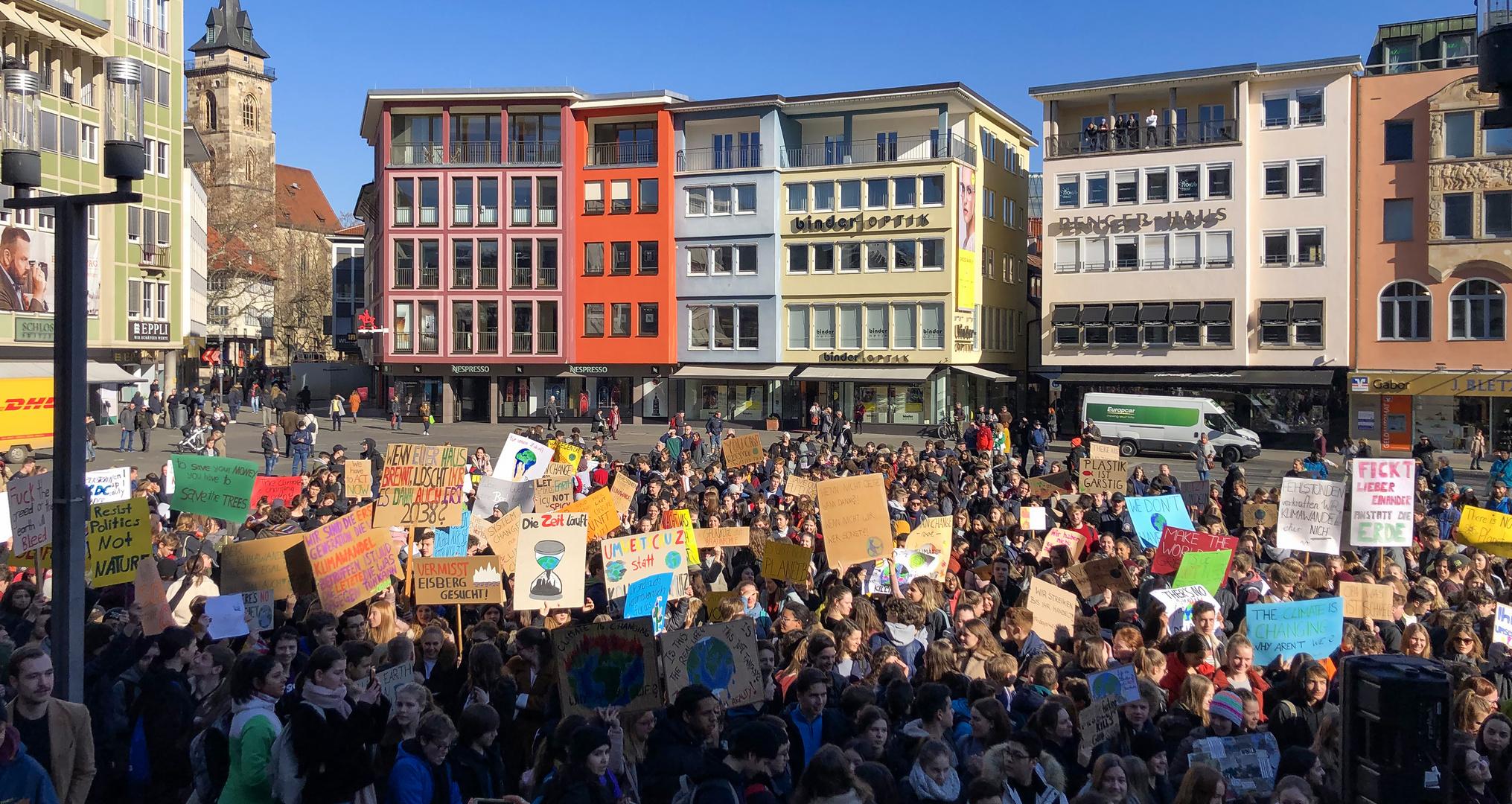 Schülerdemo für Klimaschutz 1