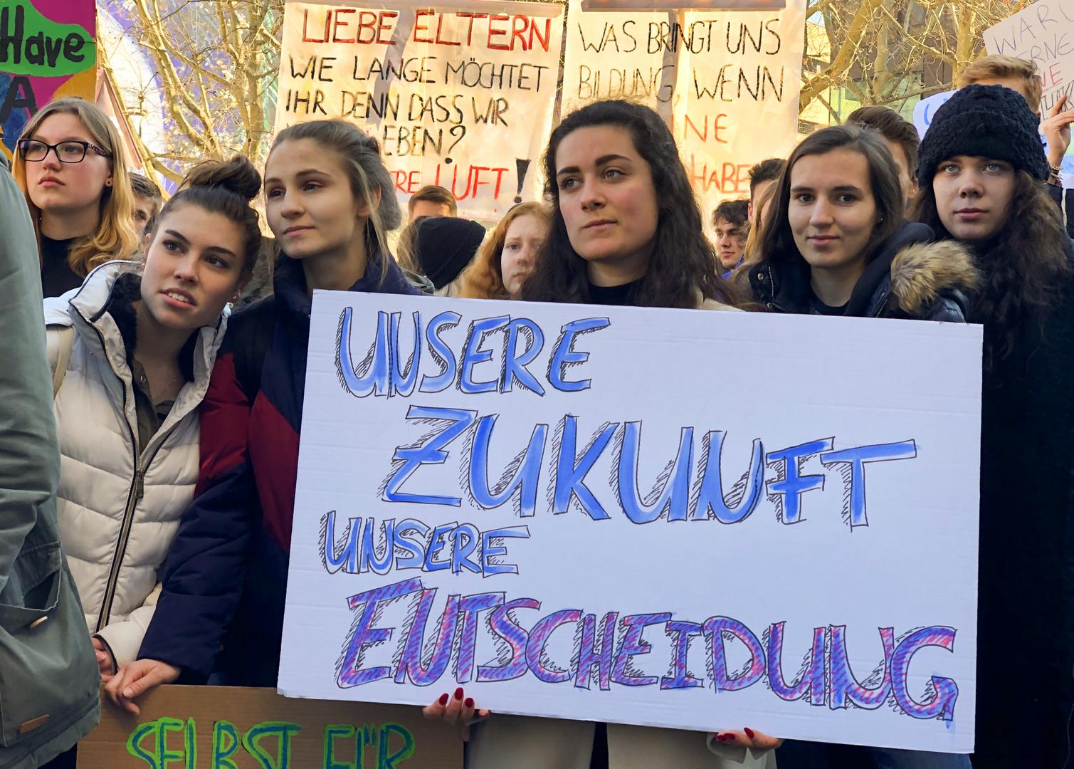 Schülerdemo für Klimaschutz 3