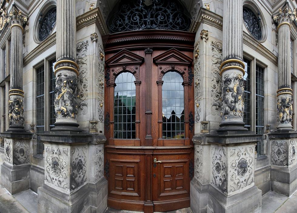 Schütting - Eingang
