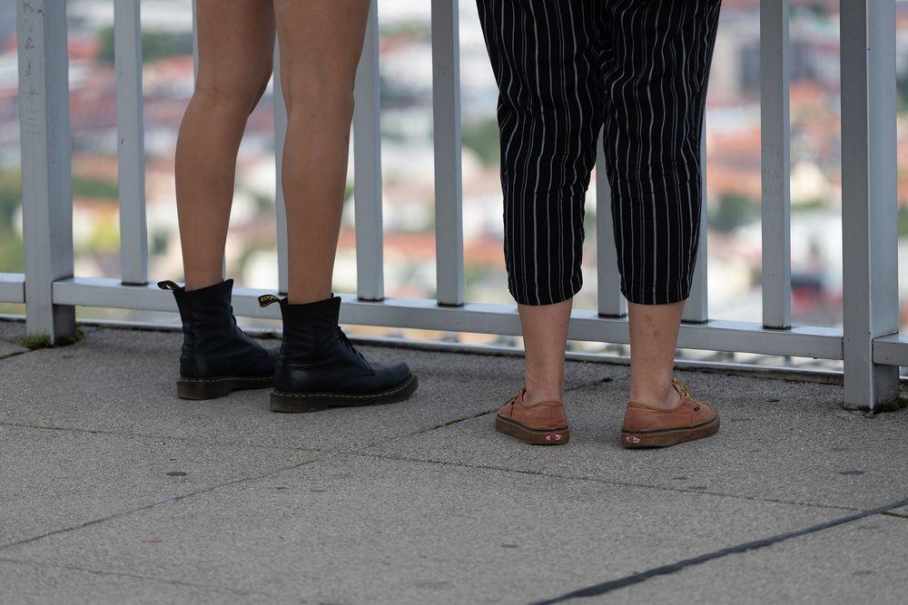 Schuhe getauscht?