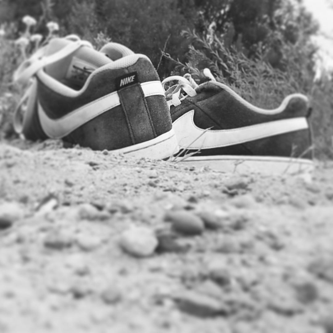 Schuhe im Sand