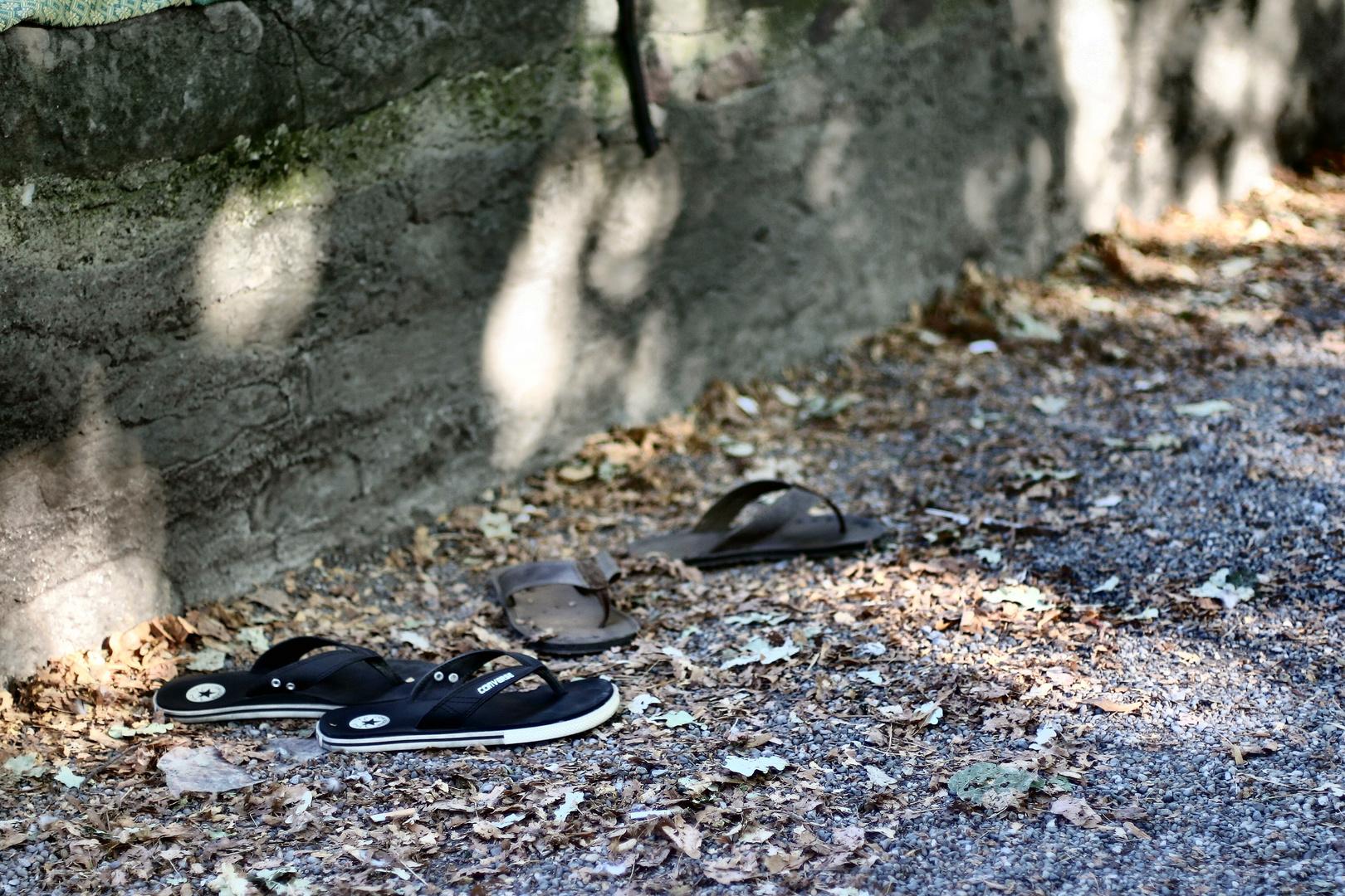 Schuhe Pause Foto Bild Stillleben Schuhe Zurich Bilder Auf