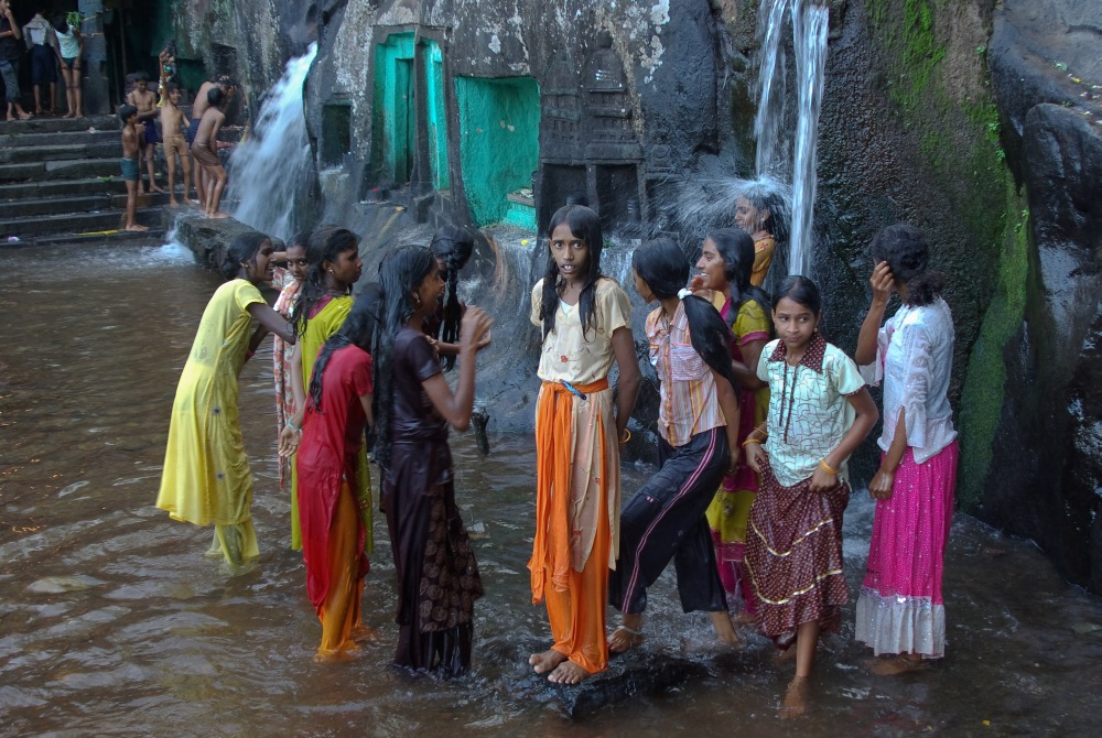 Schulausflug in den Western Ghats