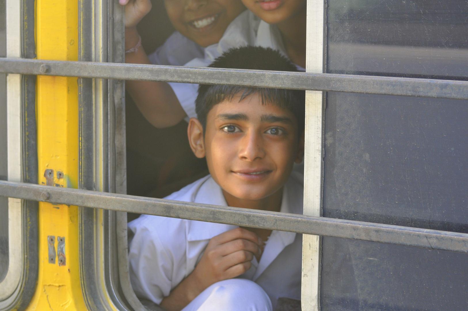 Schulbus Indien