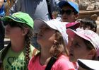 Schulkinder in Knossos