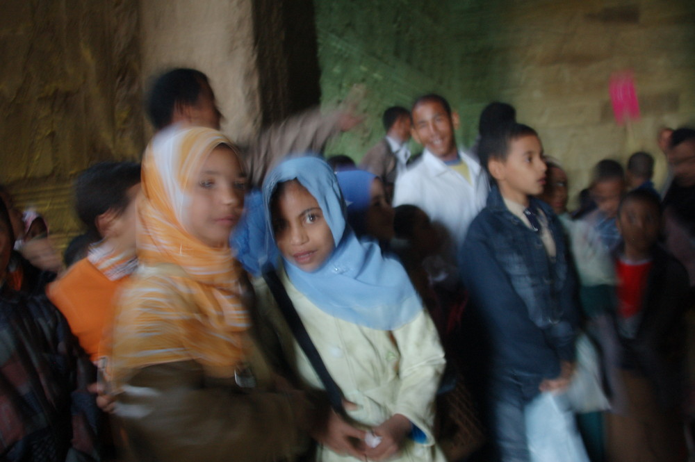 Schulklasse in Ägypten