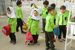 Schulklassenausflug ins Nationalmuseum Teheran