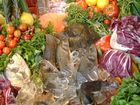 Schuppen im Gemüse