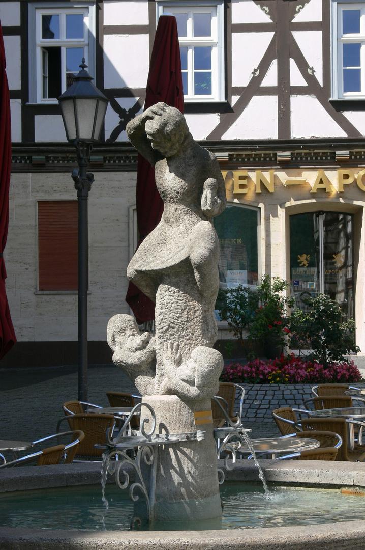 Schuster-Jobst-Brunnen, Eschwege, Obermarkt