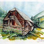 Schutzhütte...