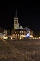 Schwabach bei Nacht (2)
