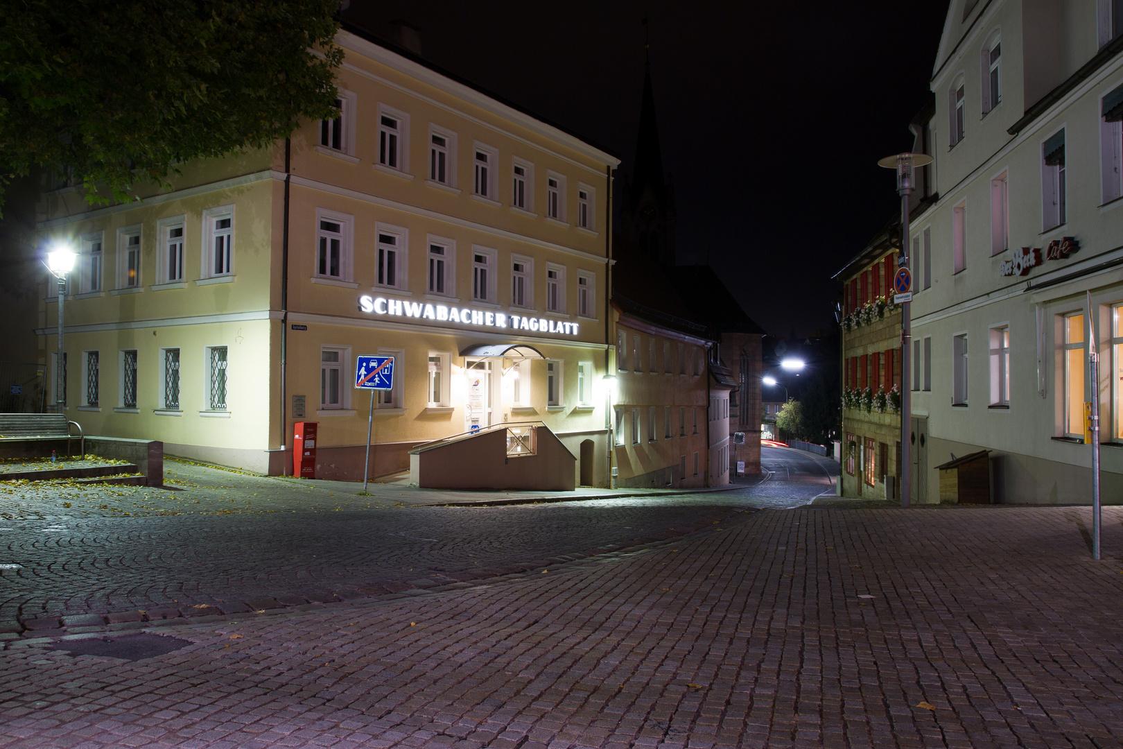 Schwabach bei Nacht (8)
