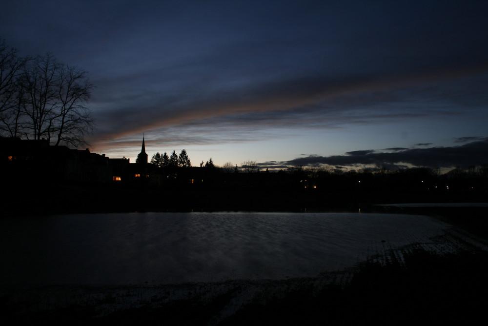 Schwabachgrund bei Nacht